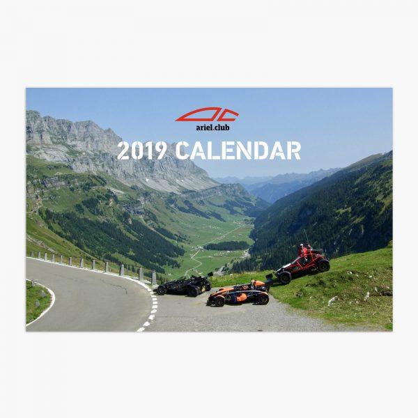 Ariel Club calendar 2019